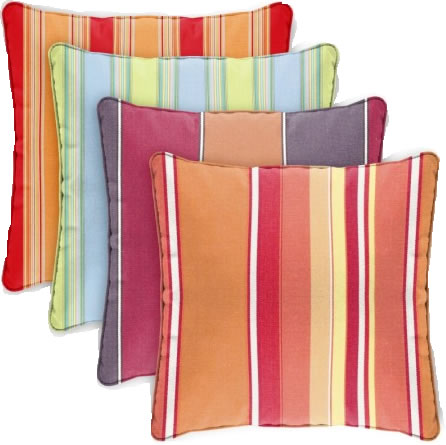 pillowSquare24x24Stripe